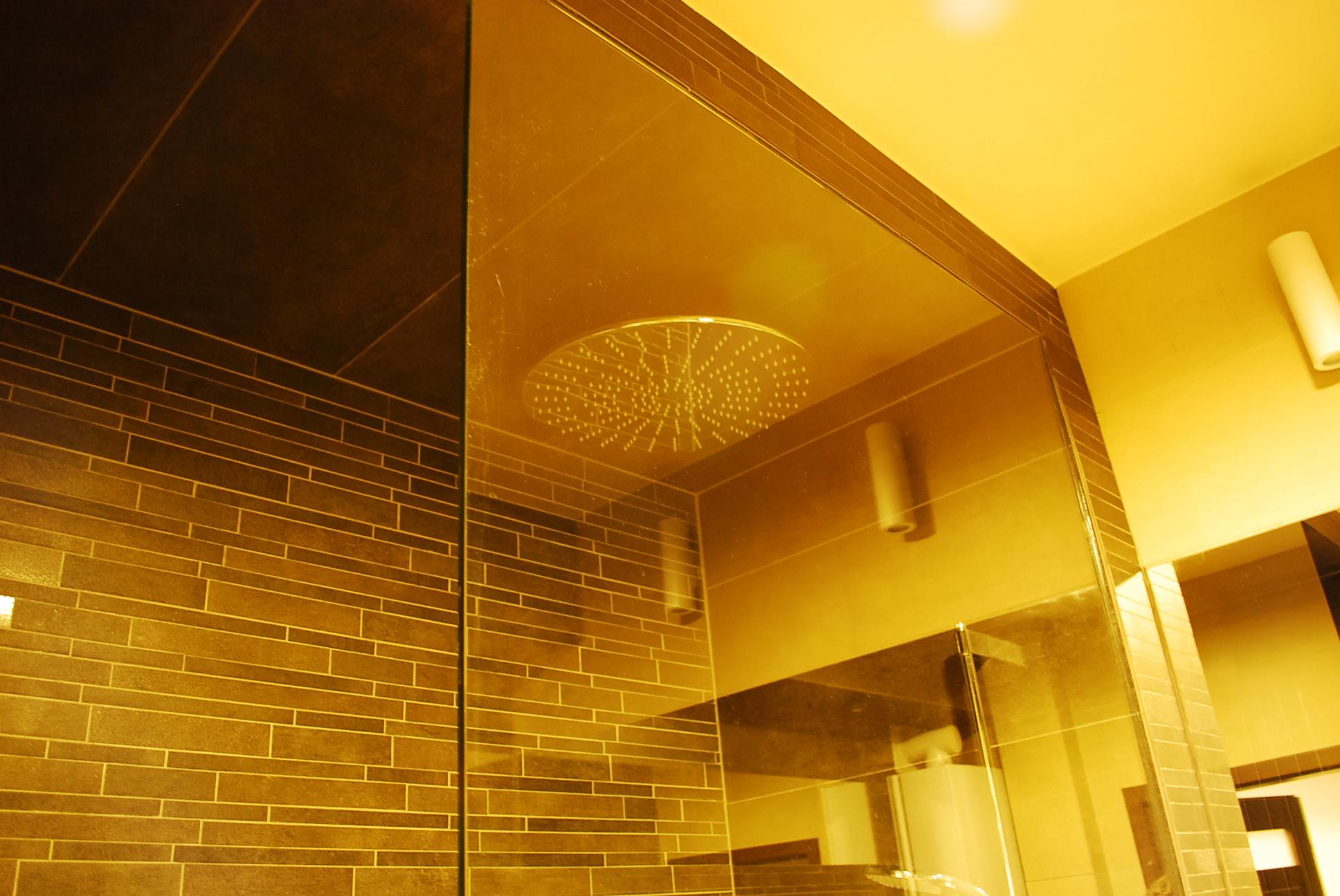 Kabina prysznicowa szklana - ścianka